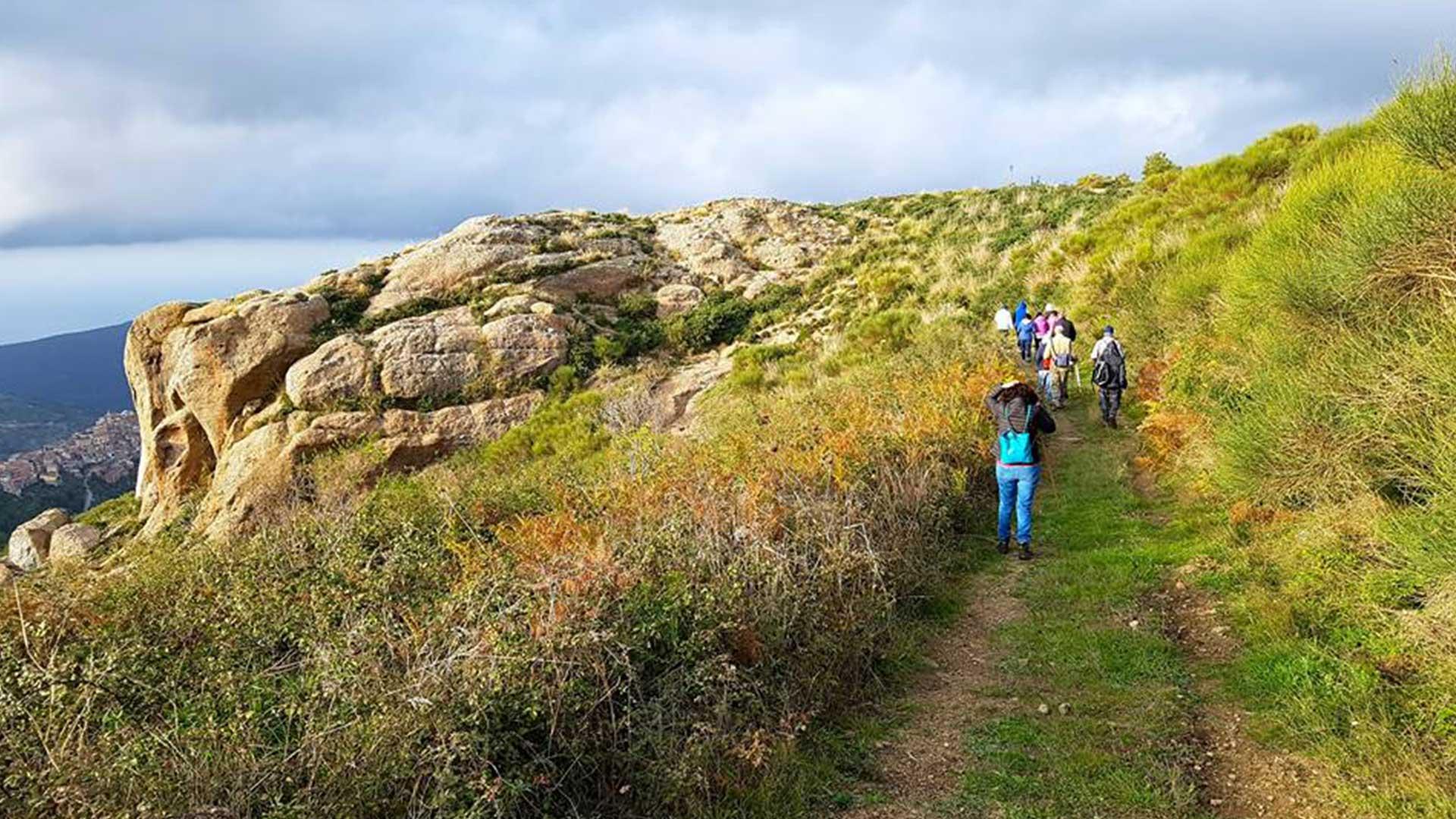 Trekking  e pic nic biologico a Rocca Pietra Giuda